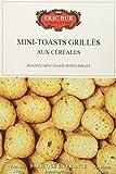 ERIC BUR Mini Toasts Grilles aux Céréales 150 g - Lot de 5