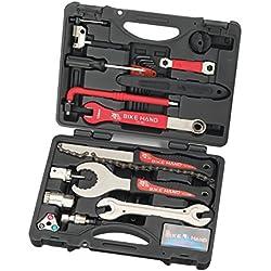 Kit de herramientas para bicicleta de alta calidad, profesional, para usar con Shimano, de Bike Hand YC-728