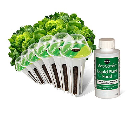 AEROGROW INTERNATIONAL INC - AeroGarden Salad Kit, 6-Pk. (Pod 6 Aerogarden)