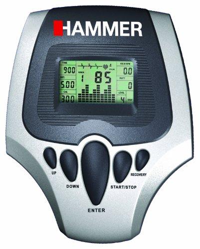 HAMMER Ergometer CT Cardio CE1, silber / anthrazit - 6