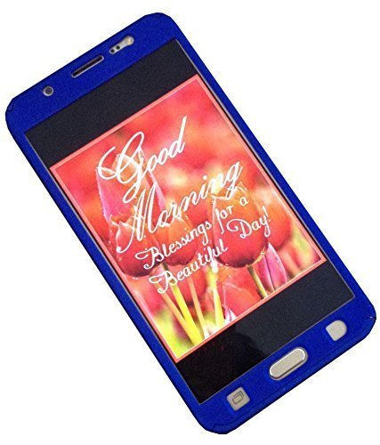 Dream2Cool(TM) 360 Degree Full Body Protection Front & Back Case Cover (iPaky Style) with Tempered Glass for Samsung Galaxy Grand Prime (G-530) BLUE  available at amazon for Rs.279