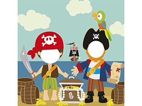 Photocall Pirata 1x1,20m Infantil   Photocall Piratas   Photocall Económico y Original...