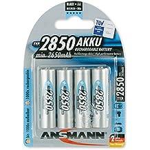 Ansmann 5035212 - Pilas recargables (NiMh, AA, 4 unidades)