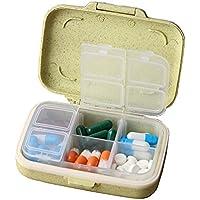 Pille-Kasten / Kasten-tragbarer Reisemedizin-Organisator für Medikation und Vitamin, großes Fach #45 preisvergleich bei billige-tabletten.eu