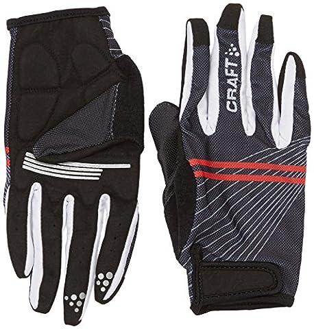 Craft Herren Handschuhe Long Gel bunt Schwarz / Weiß /