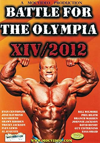 Battle For The Olympia 2012: Bodybuilding (3pc) [DVD] [Region 1] [NTSC] [US Import]