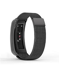 Mira la banda,Pulsera Huawei Glory Wristband 3 Pulseras Smart Watch Healthy Pulsera,Nueva luz de moda pulsera correa de reloj correa de reloj inteligente Xinan Correa (Deportes negro)