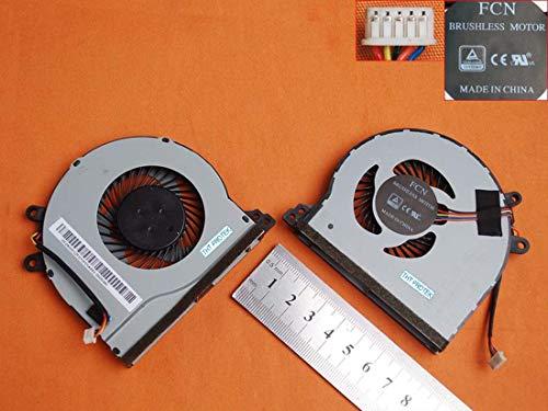Kompatibel für Lenovo IdeaPad 310 Series 310-15ISK, 310-15ABR Lüfter Kühler Fan Cooler -