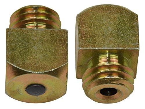 Unbekannt Vierkanthufstollen Set 8 teilig mit Hartmetallstift bestehend aus 8 Vielzweckstollen (12 x 12 x 10 mm) (M12)