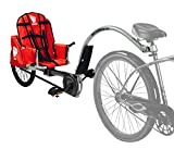 Weehoo Kids 'iGO Turbo Trailer Tagalong Bike, Rot, 4–9 Jahre