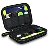 #7: Tizum 8 x USB Flash Drives Carrying Case, Premium Quality, Hard EVA for Flash/key Drives (Black)