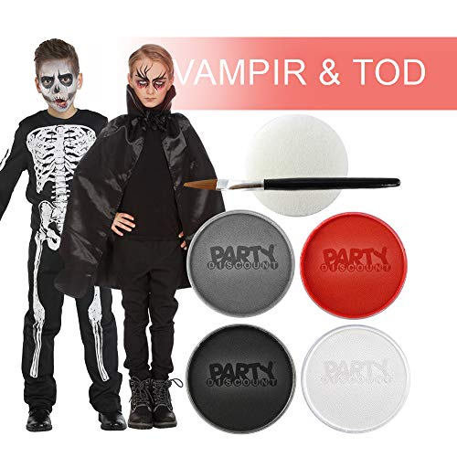 PARTY DISCOUNT Schmink-Set Halloween, Dracula & Tod