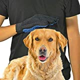 GOLDSTA Fellpflegehandschuh für Katzen Hunde | Fellhandschuh-Pflegehandschuhe | Katzenhandschuh | Katzenbürste inkl. Postkarte mit Katzenmotiv  Geschenkverpackung verfügbar  - 7