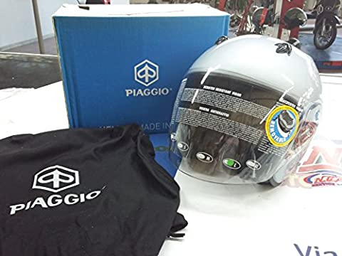 602898M04F Helmet Piaggio Model Xjet Grey Excalibur Size L 59cm