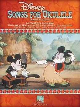 Disney Songs for Ukulele Songbook by [Beloff, Jim]