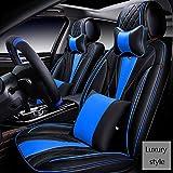 Autositzbezug Beschützer Sitzbezug-Sets Autositzbezug Leder Sitzbezug Allzweckbezug Sitzbezug Komplettsatz 5 Sitze Autoabdeckung (Farbe : B)