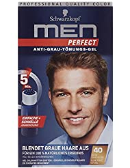 Re-Nature - Schwarzkopf Men Perfect - Coloration soin en gel - Blond foncé naturel 40