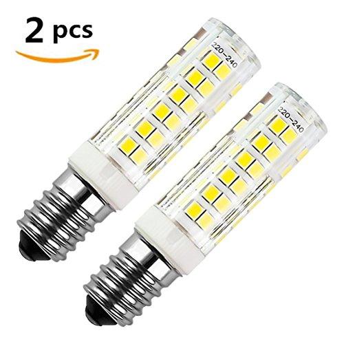 E14 LED Lampe 7W, Ersatz für 50W Halogenlampen , 500LM Kaltweiß 6000K, 360°Strahlwinkel, 220V-240V AC, für Kronleuchter Wandlampe