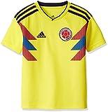 adidas Colombia Camiseta de Equipación, Niños, Amarillo (Amabri/Maruni), 140-9/10 Años