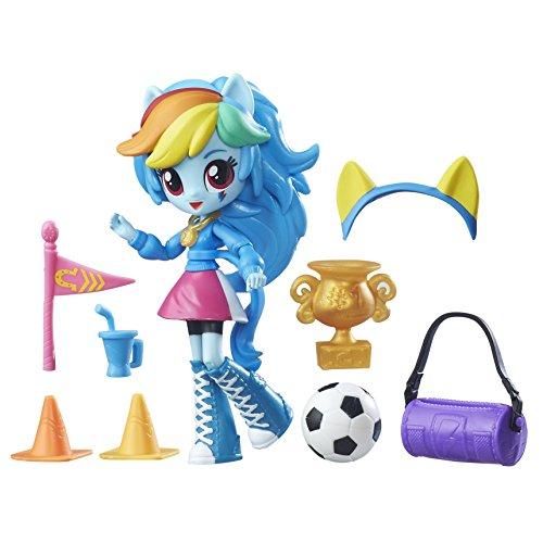tria Girls Minis Rainbow Dash School Pep Rally Set by My Little Pony Equestria Girls ()