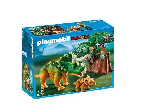Playmobil - Triceratops con bebé 5234