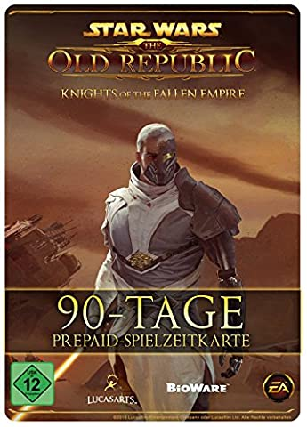 Star Wars : The Old Republic - 90 Tage-Prepaid-Abonnement-Spielzeit-Code [PC Online Code]