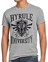 style3 University of Hyrule T-Shirt Homme