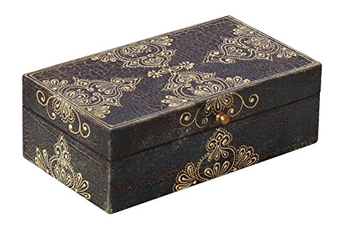 decorative-wooden-antique-jewelry-box-in-black-color-with-crackled-look-old-world-cone-painting-art-