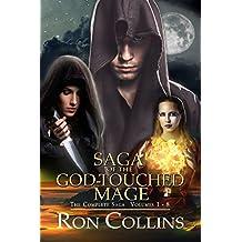 Saga of the God-Touched Mage (Vol 1-8) (English Edition)