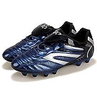 Voetbalschoenen, herensneakers Jongens Junior outdoor sneakers Draag antislip voetbalschoenen voor heren en dames,Blue,EUR44/270MM