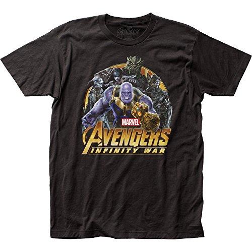 lichkeit krieg, um T-shirtit für Herren X-Groß Schwarz (Wächter Der Galaxie Kostüme)