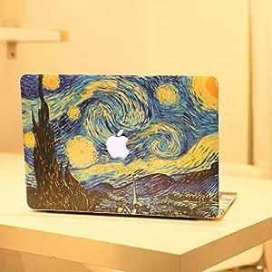 Haut la nuit étoilée huile en vinyle pour Apple Macbook Pro Retina 13 stickers ordinateur portable Mac Etui Housse intégrale en vinyle Para