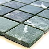 Marmor Mosaik Fliesen 48x48x8mm Verde