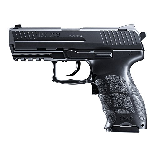 HECKLER & KOCH Softair P30 electric mit Maximum 0.5 Joule Airsoft Pistole Schwarz One Size
