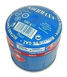 Original Kochmann® 190g Butan Gaskartuschen für Campingkocher 190 Gramm Stechkartusche Gas Kartusche Camping Kocher für Lötbrenner