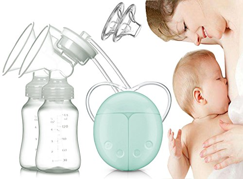 Dual Electric Breast Pump with Charge Plug and Automatic Massage for Postpartum Prolactin Color 51SuP1K78JL