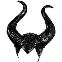 FlowersSea Halloween Horns - Diadema Maléfica para Mujer, Disfraz de Reina