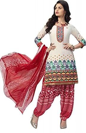 Ewows Fancy Designer Cotton Patiala Salwar Suits
