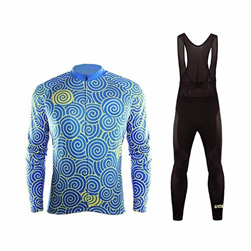 UGLYFROG #T13 Radsport Trikots Lange Ärmel Sport & Freizeit Shirts+ Bib Lange Hosen Anzüge Frühjahr-Herbst Style