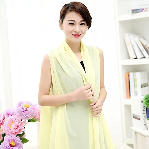 pu ran - Poncho -  donna Light Yellow
