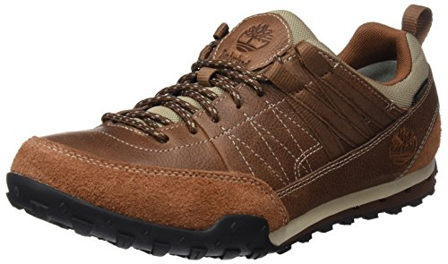 Timberland Greeley Approach Low Leattortoise Shell Rugged Fg, Chaussures à Lacets Homme, Marron (Tortoise Shell Rugged Fg), 41.5 EU