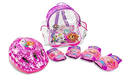 Patrulla Canina - Set con mochila, casco y protecciones para niña (Saica 2221) por Saica