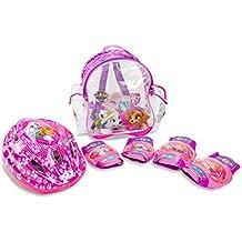 Patrulla Canina - Set con mochila, casco y protecciones para niña (Saica 2221)