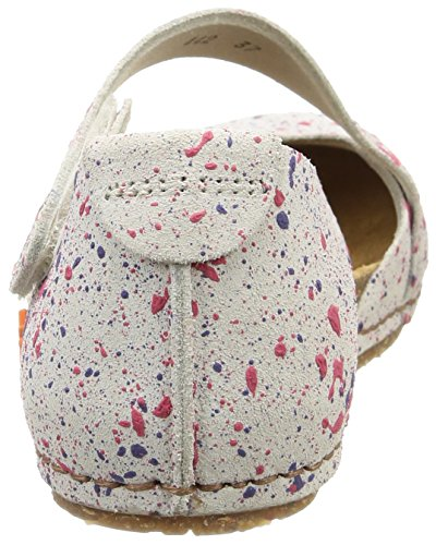 Art Creta 442, Sandales Femme Multicolore (Dotted White)