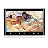 Lettore DVD per Poggiatesta Auto Pumpkin, Schermo da 10.1 Pollici (258 x 170mm), Risoluzione 1080P 1024 x 600, Porta HDMI USB SD Card AV, Telecomando