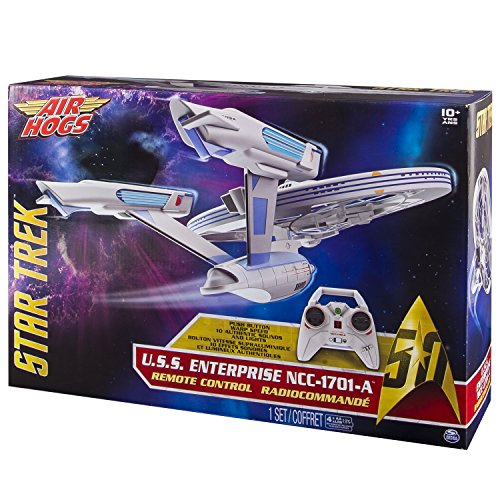 Spin Master 6027406 - Air Hogs - Star Trek Enterprise Quad