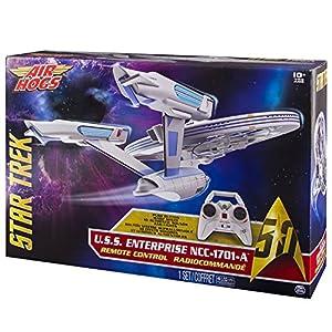Spin Master Air Hogs Star Trek Enterprise - Juguetes de Control Remoto (AA, 250 mm, 400 mm, 458 mm, 134 mm, 305 mm)