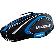 Babolat X 6 Club Fundas para raquetas de tenis, Unisex adulto, Azul, Única
