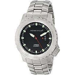 Momentum Herren-Armbanduhr XL TORPEDO Analog Quarz Edelstahl 1M-DV74B0