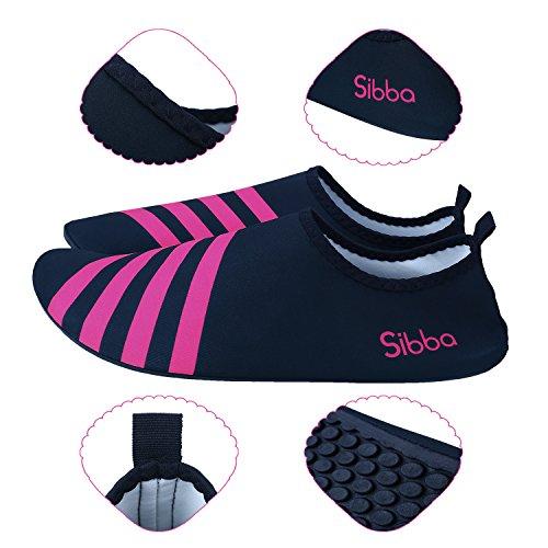 Barefoot Haut Strand Swim Wasser Unisex Schuhe Rot Surf Yoga f眉r dqHTEqxX